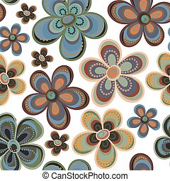 tiny floral seamless pattern