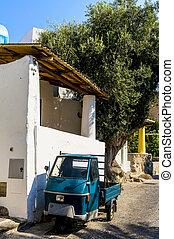 Tiny Italian Truck