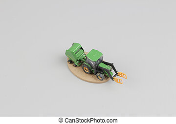 tiny of fun modell of Agricultural machinery. - the tiny of...