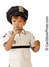 Tiny Police on Duty