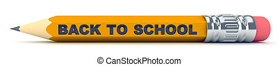 Tiny sharp pencil - Back to School