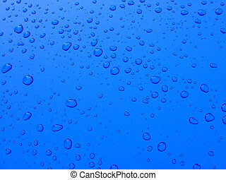 Tiny water drops