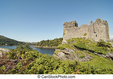Tioram Castle in Scotland