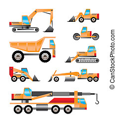 tipi, camion, differente