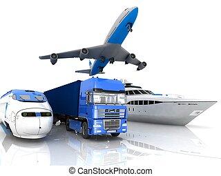 tipi, trasporto