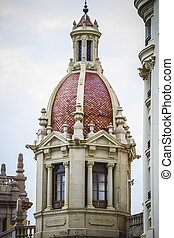 tipical architecture of the Spanish city of Valencia
