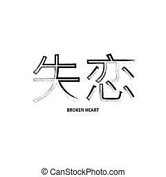tipografia, stile, giapponese