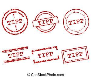 Tipp stamp
