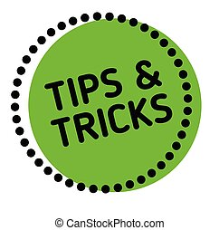 Tips And Tricks label