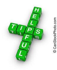 tips, behulpzaam