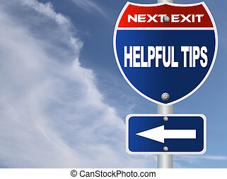 tips, behulpzaam, wegaanduiding