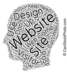 Tips For Web Success text background wordcloud concept