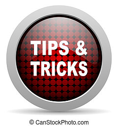 tips glossy icon