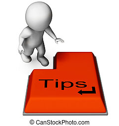 Tips Key Means Online Guidance And Suggestions
