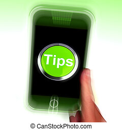 Tips Mobile Means Internet Hints And Suggestions