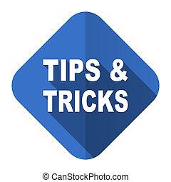 tips tricks flat icon