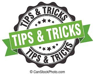 tips & tricks stamp. sign. seal