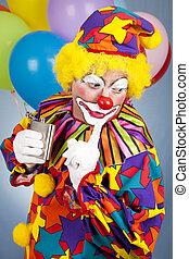 tipsy, clown, shhhhh, -