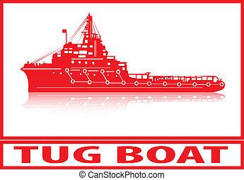 tirón, boat.