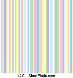tira, colores, configuración de pastel