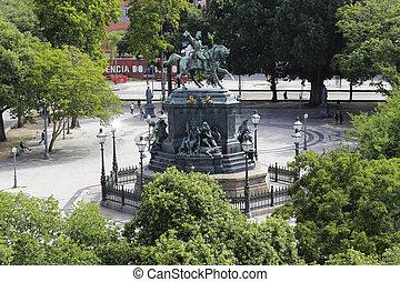 Tiradentes Square, Rio de Janeiro, Brazil - Tiradentes...