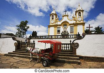Tiradentes - Igreja Matriz de Santo Ant�nio located in...