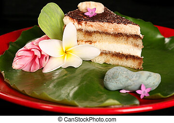 Tiramisu on Lilly Pad