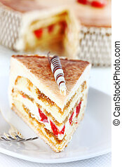 tiramisu, torta, compleanno