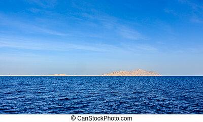 Tiran Island. Egypt.