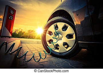 Tire Air Pressure Check
