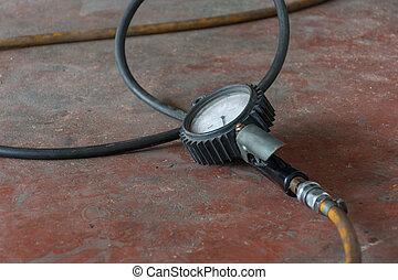 Tire car air pressure