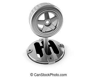 Tire change concept