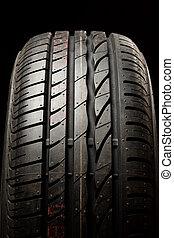 Tire close up