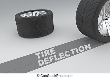 Tire Deflection safety concept