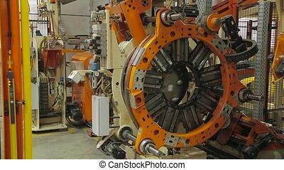 Tire manufacture robotic equipment