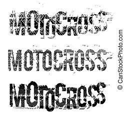 Tire Moto Lettering