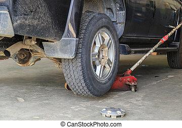 Tire repair  - Tire repair