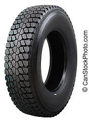 Tire. - Truck tire.