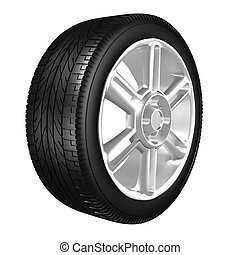 Tire - The objects made at 3d