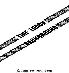 Tire track perspective