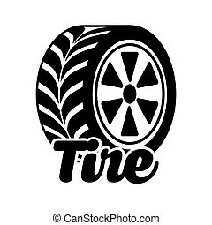 tire tracks design, vector illustration eps10 graphic