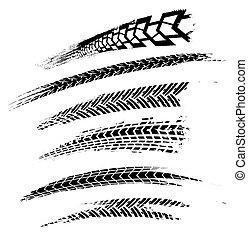 Tire Tracks Elements-01