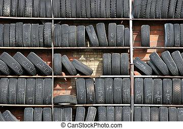 tire wall