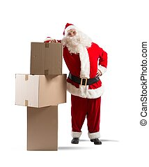 Santa Claus courier