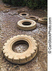 Tires Landfill Pollution