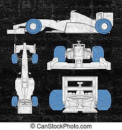 tires racing car