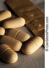 tirita, medicina, píldoras