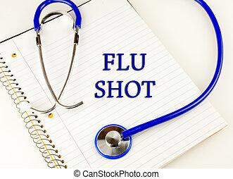 tiro de la gripe