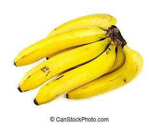 tiro, estúdio, bananas, grupo
