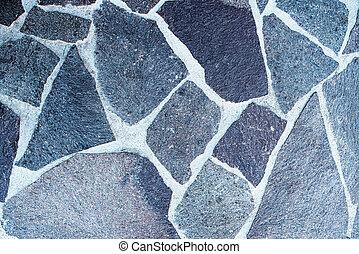 tiro, piedra, directamente arriba, natural, piso